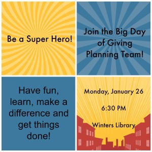 Join the Big Day of Giving 2015 Planning Team