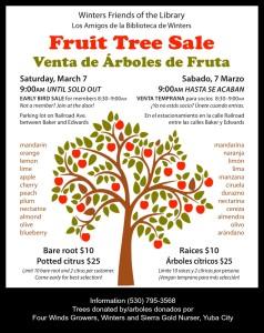 Fruit Tree Sale Update!