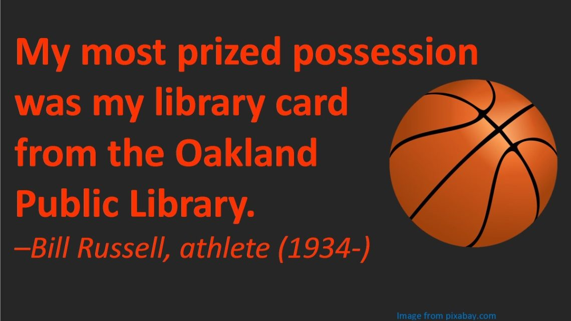 library link service and bill russell quote