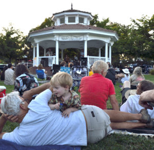 2016 Summer Concerts at the Gazebo in Winters