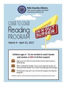 Cover To Cover Reading Program at the Library