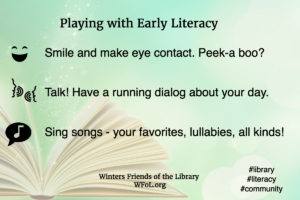 What is the foundation of learning and literacy? Play!