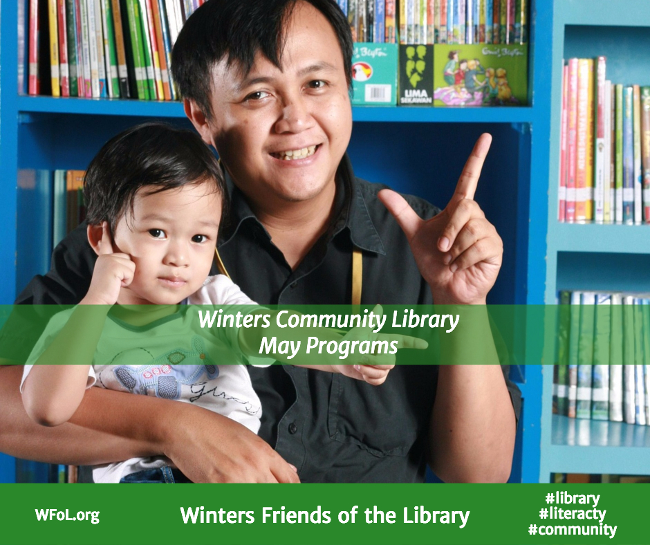 May Programs at the Winters Community Library