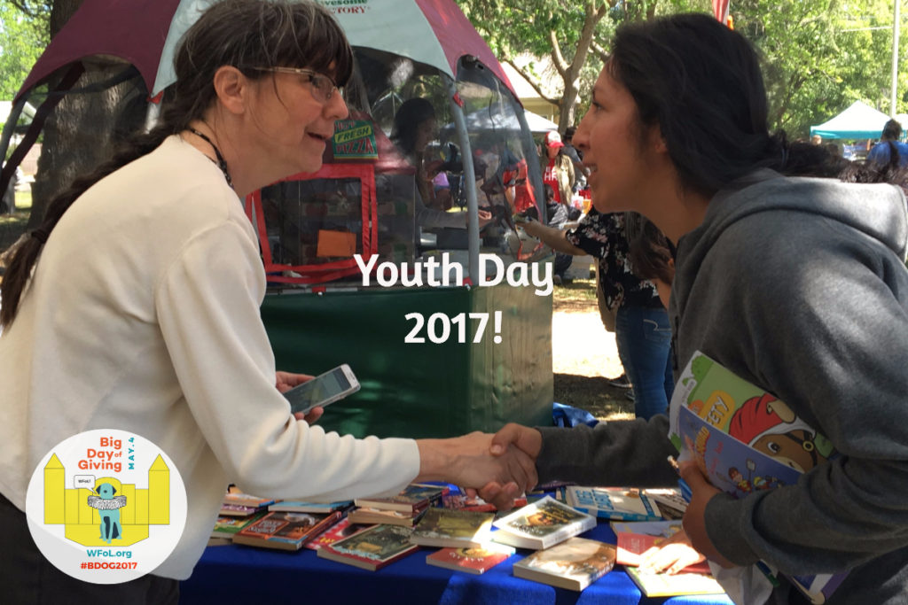 Youth Day Book Give Away 2017 #BDOG2017. Photo by Lisa Nalbone