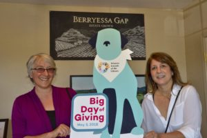 Celebrating 5 Years of Giving Together: Winters Friends of the Library, Berryessa Gap Vineyards and Big Day of Giving