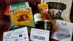 What's in the WFoL #BDOG2018 Donor Thank-You Basket?