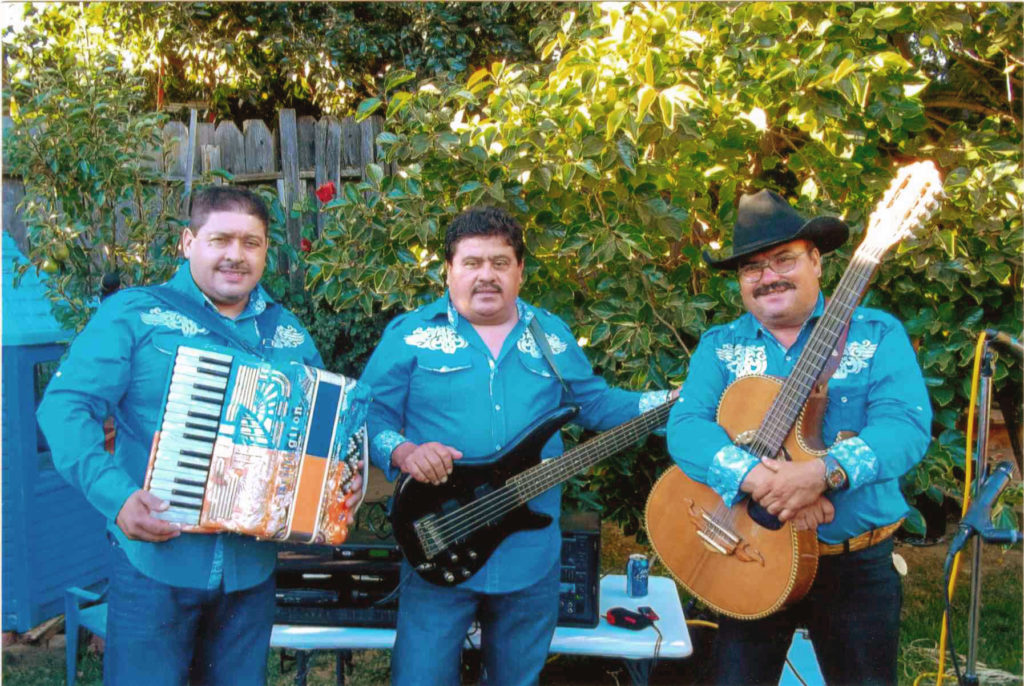 Los Tres de Winters will present a free outdoor concert of Norteño-style music on Thursday, July 12 at 7:00 p.m. at the Rotary Park Gazebo in Winters, as part of the Winters Friends of the Library summer concert series.