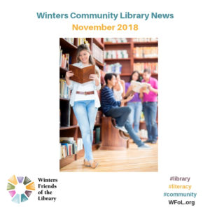 Programs at the Winters Community Library in November
